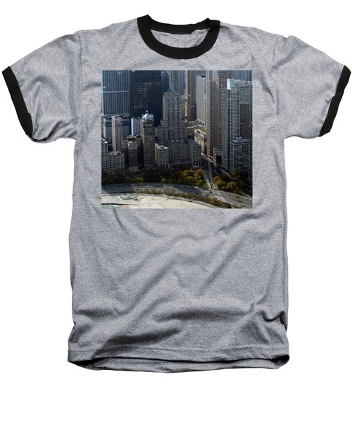Chicago The Drake Baseball T-Shirt by Thomas Woolworth