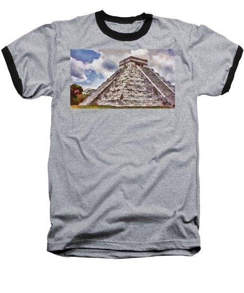 Chichen Itza Baseball T-Shirt