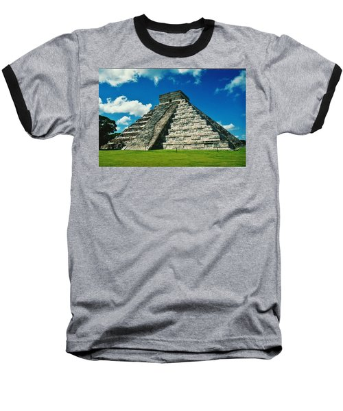 Chichen Itza Baseball T-Shirt