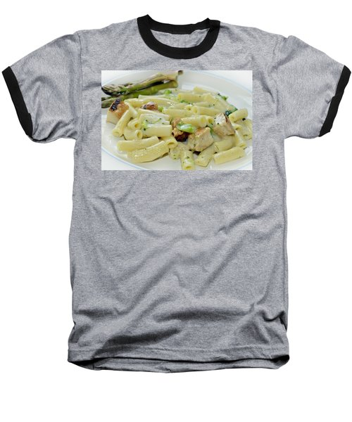 Chicken Alfredo Meal Baseball T-Shirt