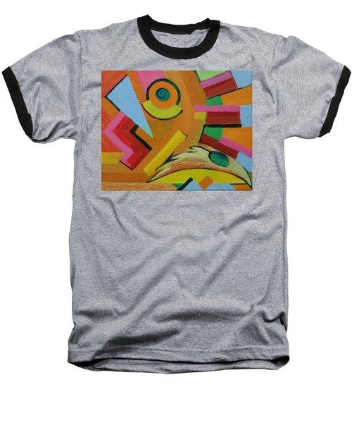 Chicken Cog Baseball T-Shirt