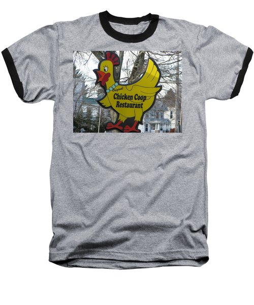 Chicken Coop Baseball T-Shirt