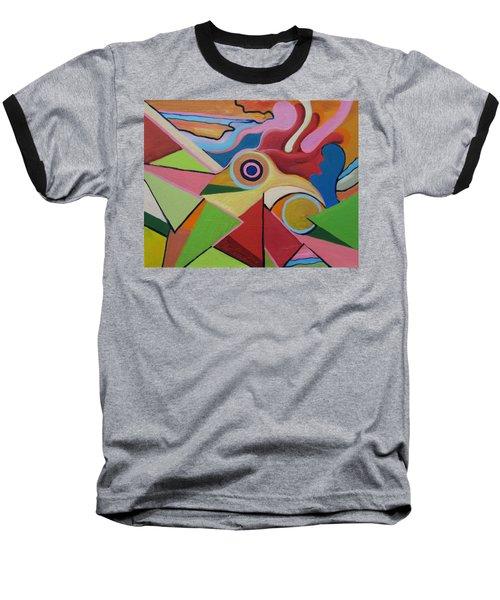 Chicken Fun Do Baseball T-Shirt