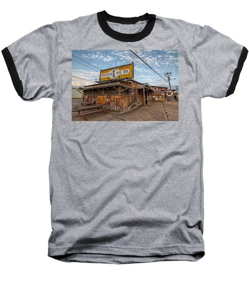 Chicken Oil Company Baseball T-Shirt