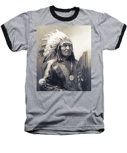 Chief He Dog Of The Sioux Nation  C. 1900 Baseball T-Shirt