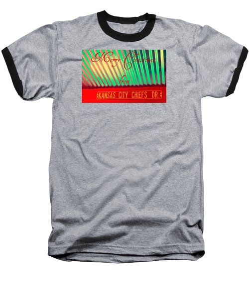 Chiefs Christmas Baseball T-Shirt