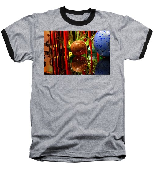 Chihuly-10 Baseball T-Shirt by Dean Ferreira