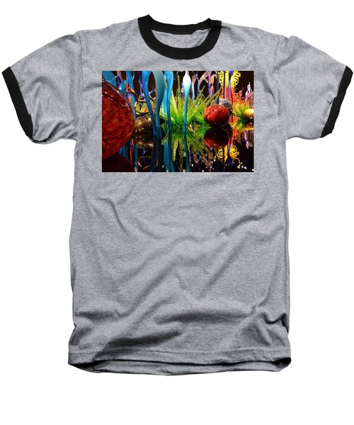 Chihuly-11 Baseball T-Shirt by Dean Ferreira