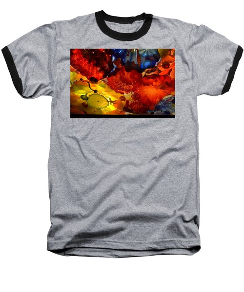 Chihuly-6 Baseball T-Shirt by Dean Ferreira