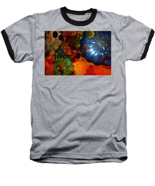 Chihuly-9 Baseball T-Shirt by Dean Ferreira