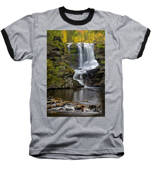 Childs Park Waterfall Baseball T-Shirt