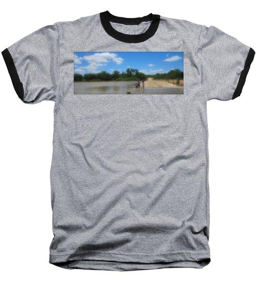Chilonga Bridge Baseball T-Shirt