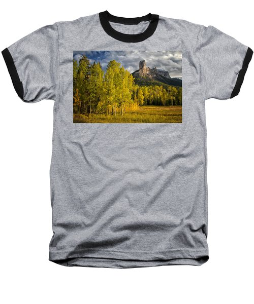 Chimney Rock San Juan Nf Colorado Img 9722 Baseball T-Shirt by Greg Kluempers