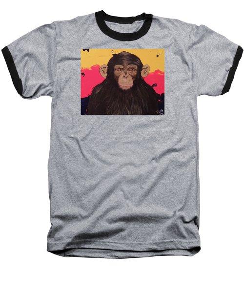 Chimp In Prime Baseball T-Shirt