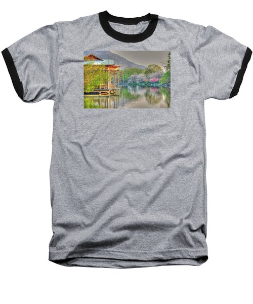 China Lake House Baseball T-Shirt
