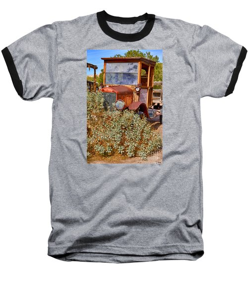 Baseball T-Shirt featuring the photograph China Ranch Truck by Jerry Fornarotto