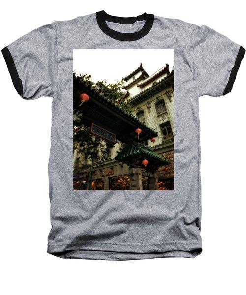 Chinatown Entrance Baseball T-Shirt