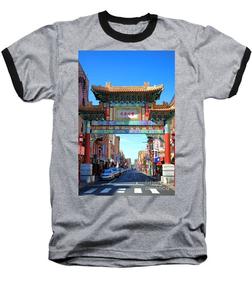 Chinatown Friendship Gate Baseball T-Shirt