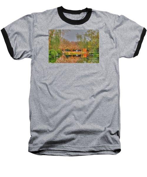 Chineese Garden Baseball T-Shirt