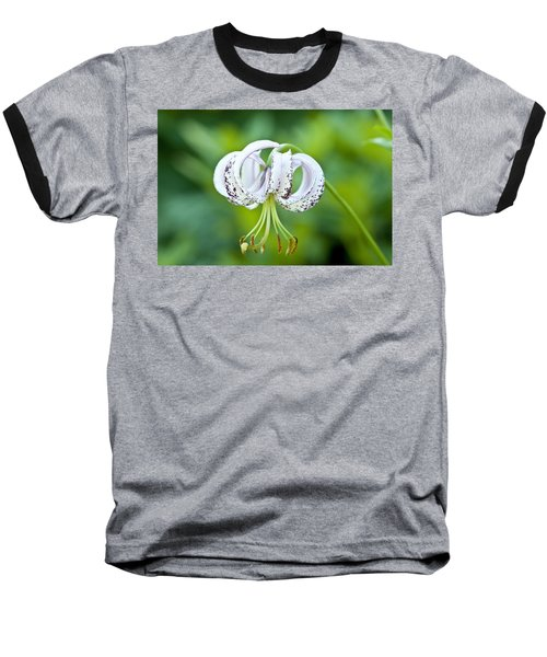 Baseball T-Shirt featuring the photograph Chinese Lily by Lana Enderle