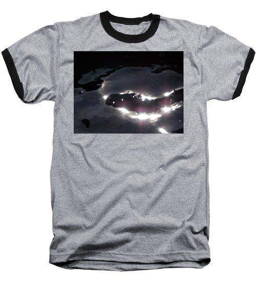 Water Dragon Baseball T-Shirt by Deborah Moen