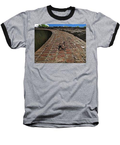 Chipmunks View Of A Stone Bridge Baseball T-Shirt