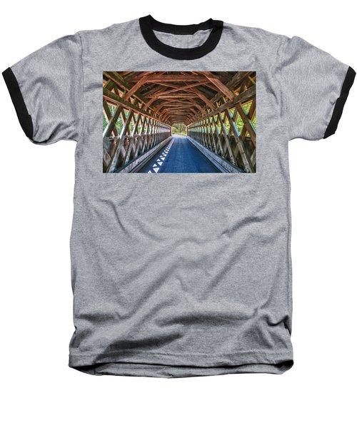 Chiselville Bridge Baseball T-Shirt
