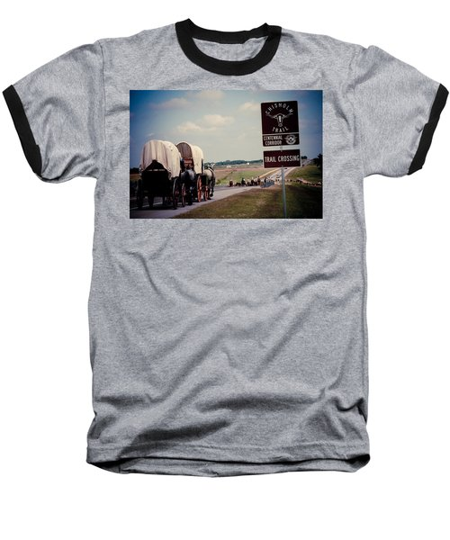 Chisholm Trail Centennial Cattle Drive Baseball T-Shirt