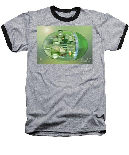Chloroplast - Basis Of Life - Plant Cell Biology - Chloroplasts Anatomy - Chloroplasts Structure Baseball T-Shirt