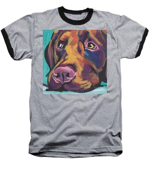 Choco Lab Love Baseball T-Shirt