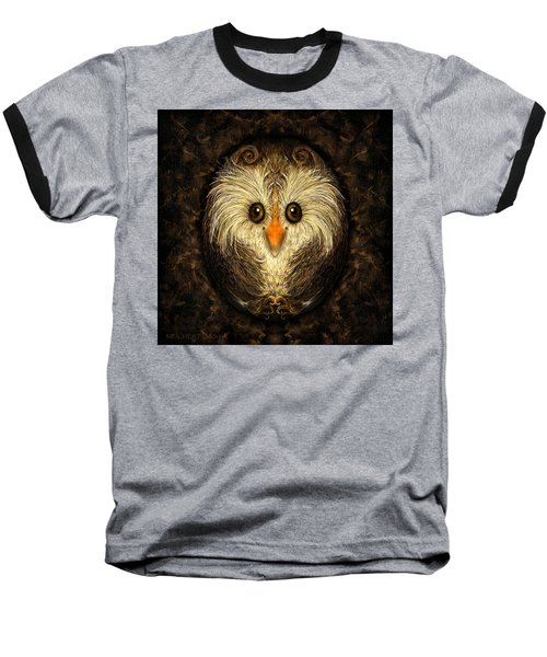 Chocolate Nested Easter Owl Baseball T-Shirt