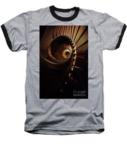 Chocolate Spirals Baseball T-Shirt