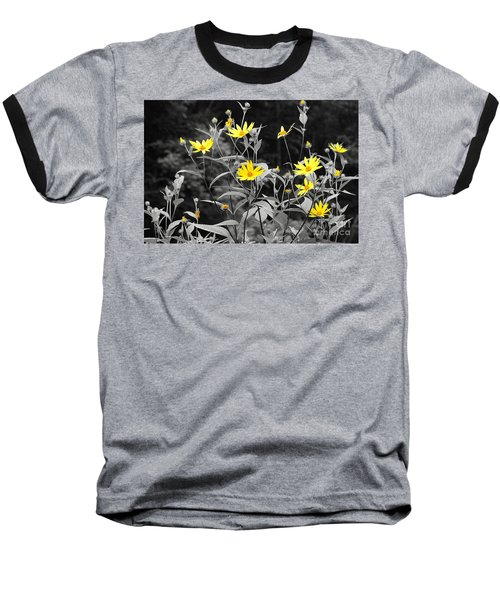 Chokeweeds Sc Baseball T-Shirt by Mary Carol Story