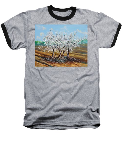 Baseball T-Shirt featuring the painting Chosen by Meaghan Troup