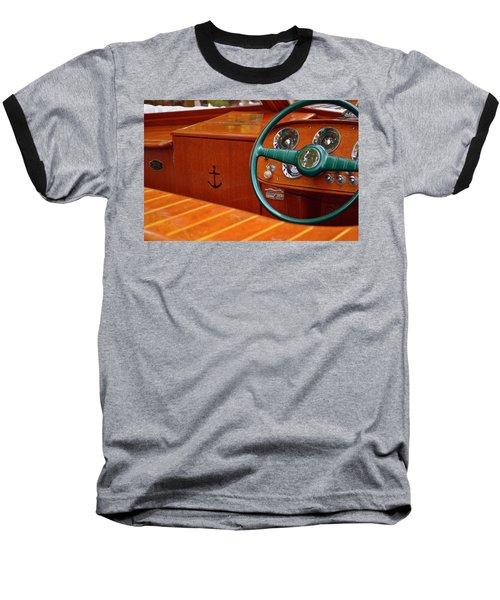 Chris Craft Cockpit Baseball T-Shirt