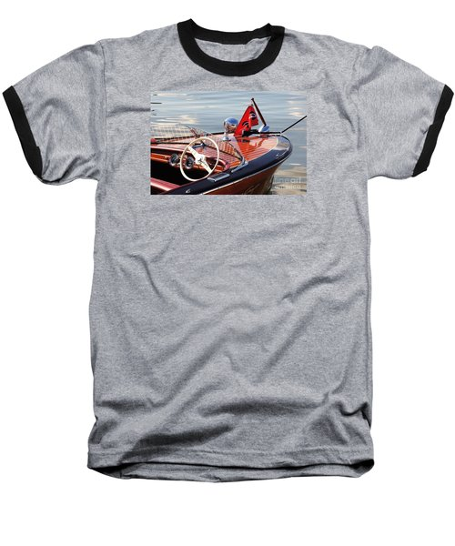 Chris Craft Deluxe Runabout Baseball T-Shirt