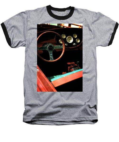 Chris Craft Interior With Gauges Baseball T-Shirt