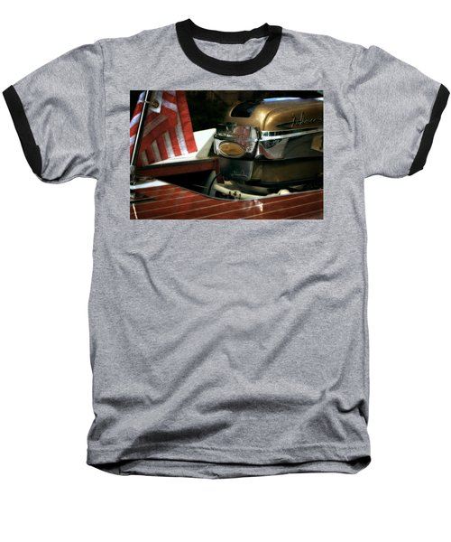 Chris Craft With Johnson Motor Baseball T-Shirt
