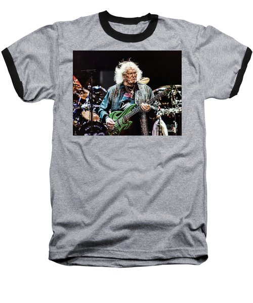 Chris Squire From Yes Baseball T-Shirt