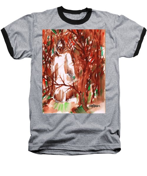 Christ In The Forest Baseball T-Shirt
