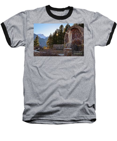 Christ Of The Mines Baseball T-Shirt