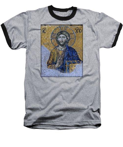 Christ Pantocrator -- Hagia Sophia Baseball T-Shirt