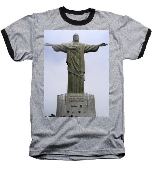 Christ The Redeemer Rio Baseball T-Shirt