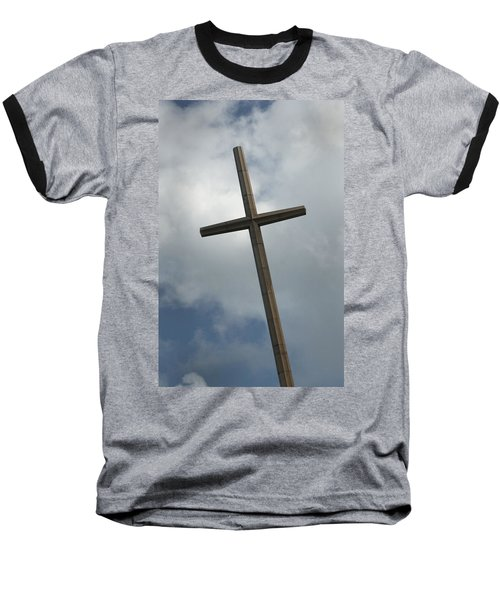 Christian Cross Baseball T-Shirt