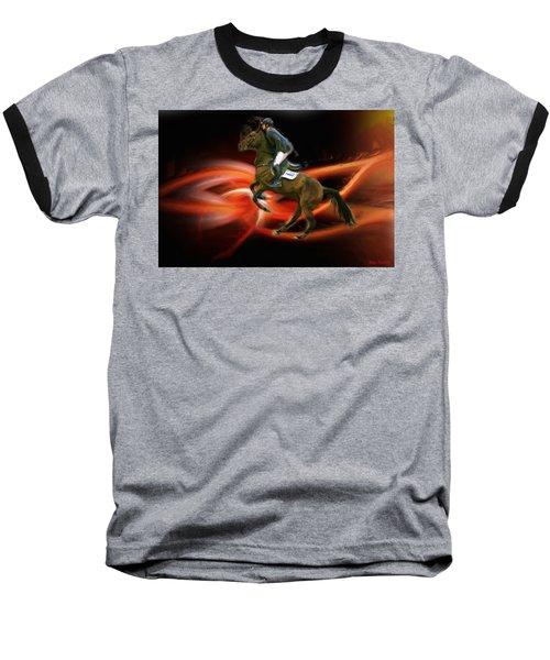 Christian Heineking On Horse Nkr Selena Baseball T-Shirt