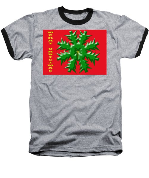 Christmas Card 1 Baseball T-Shirt