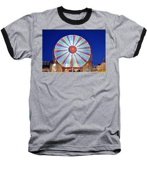 Christmas Ferris Wheel Baseball T-Shirt