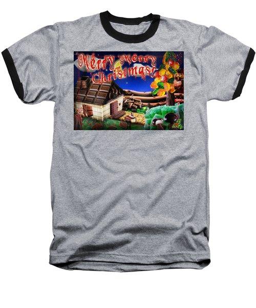 Christmas Greeting Card Iv Baseball T-Shirt