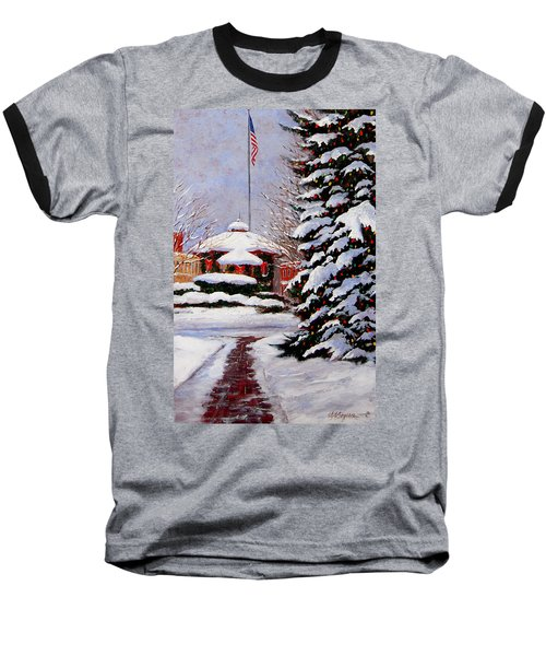 Christmas In Chagrin Falls Baseball T-Shirt