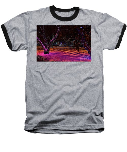 Christmas In The Park Baseball T-Shirt